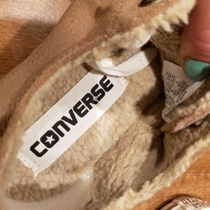 Converse Shoes - Converse All Star FLEECE LINED!